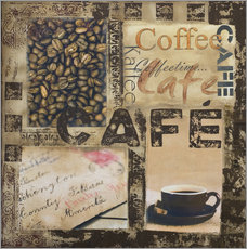 Vinilo para la pared  Cafe - Andrea Haase