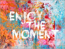Vinilo para la pared Enjoy the moment