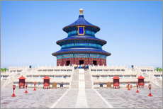 Cuadro de plexi-alu  Temple of Heaven in Beijing - Jan Christopher Becke