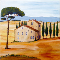 Vinilo para la pared  Tuscany - Christine Huwer
