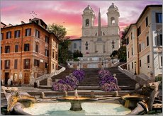 Cuadro de plexi-alu  Piazza Di Spagna with the Spanish Steps - Dominic Davison