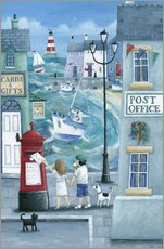 Vinilo para la pared  Harbour Post - Peter Adderley