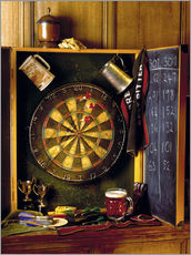 Vinilo para la pared  Darts board - Simon Kayne