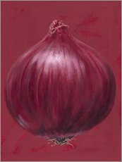 Vinilo para la pared Red onion
