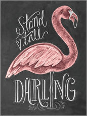 Vinilo para la pared  Stand Tall, Darling - Lily & Val