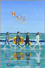 Cuadro de plexi-alu  Abbey Road Beach - Peter Adderley