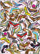 Cuadro de plexi-alu  Shoe Crazy - Lewis T. Johnson