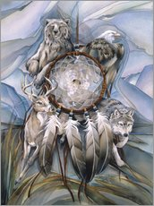 Vinilo para la pared  Dream catcher - Jody Bergsma