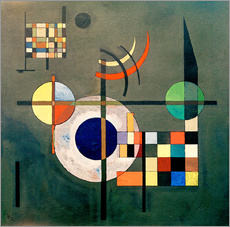 Vinilo para la pared  Counterweights - Wassily Kandinsky