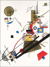 Vinilo para la pared  Happy Ascent - Wassily Kandinsky
