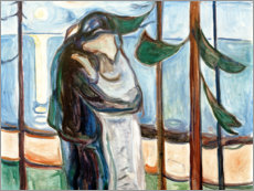 Póster  Kiss on the beach - Edvard Munch