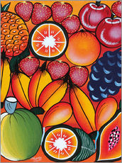 Vinilo para la pared  Exotic fruit variation - Chilambo