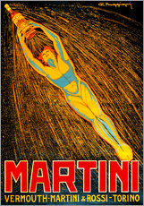 Vinilo para la pared  Vermú de Martini - Advertising Collection