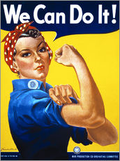 Vinilo para la pared  We Can Do It - Advertising Collection