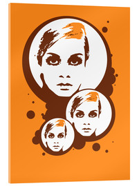 Cuadro de metacrilato  Twiggy Mathmos Orange - JASMIN!