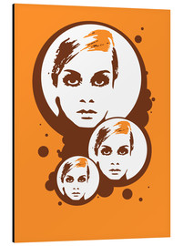 Cuadro de aluminio  Twiggy Mathmos Orange - JASMIN!