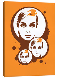 Lienzo  Twiggy Mathmos Orange - JASMIN!
