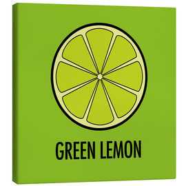 Lienzo  Green Lemon Juice - JASMIN!