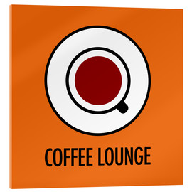 Metacrilato  Coffee Lounge, orange - JASMIN!