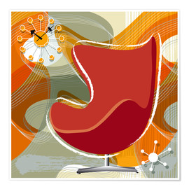 Póster Lounge Chair III