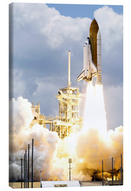 Lienzo  Space shuttle Atlantis launches - Stocktrek Images