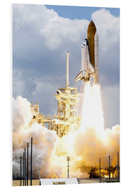 Cuadro de PVC  Space shuttle Atlantis launches - Stocktrek Images