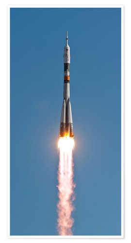 Póster The Soyuz TMA-18 rocket