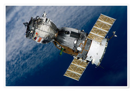 Póster The Soyuz TMA-7 spacecraft