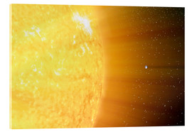 Metacrilato  The relative sizes of the Sun and the Earth - Stocktrek Images