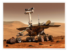 Póster  Mars Rover
