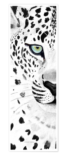 Póster The leopard - panorama