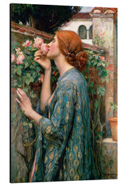 Aluminio-Dibond  Alma de la rosa - John William Waterhouse