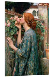 Cuadro de PVC  Alma de la rosa - John William Waterhouse