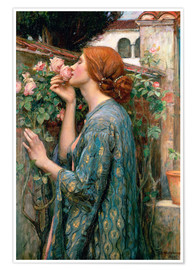 Póster  Alma de la rosa - John William Waterhouse