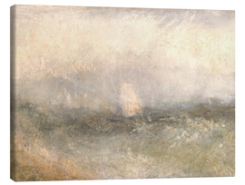 Lienzo  De Nore: viento y agua - Joseph Mallord William Turner