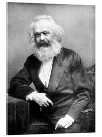 Cuadro de metacrilato  Karl Marx - English Photographer
