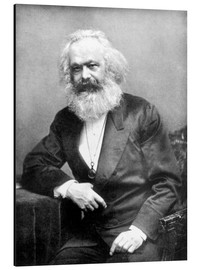 Cuadro de aluminio  Karl Marx - English Photographer