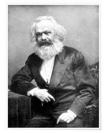 Póster  Karl Marx - English Photographer