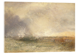 Cuadro de metacrilato  Mar en tempestad - Joseph Mallord William Turner