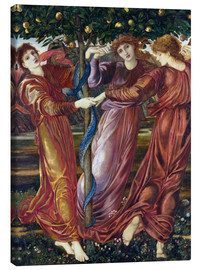Lienzo  Garden of the Hesperides - Edward Burne-Jones