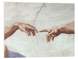 Forex  The Creation of Adam (Detail) - Michelangelo