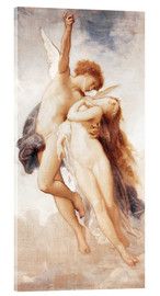 Cuadro de metacrilato  Cupid and Psyche - William Adolphe Bouguereau