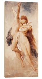 Cuadro de madera  Cupid and Psyche - William Adolphe Bouguereau