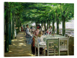 Metacrilato  The Terrace at Jacob's Restaurant in Nienstedten-an-der-Elbe - Max Liebermann
