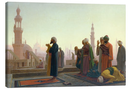 Lienzo  The Prayer - Jean Leon Gerome