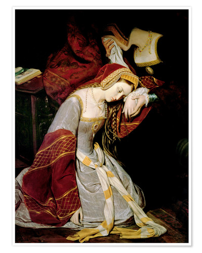 Póster Anne Boleyn in the tower