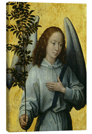 Lienzo  Angel Holding an Olive Branch - Hans Memling