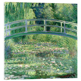 Metacrilato  White Waterlilies - Claude Monet