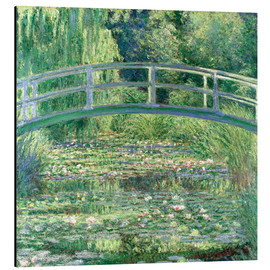 Aluminio-Dibond  White Waterlilies - Claude Monet