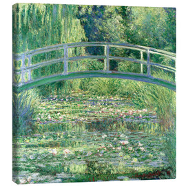 Lienzo  White Waterlilies - Claude Monet